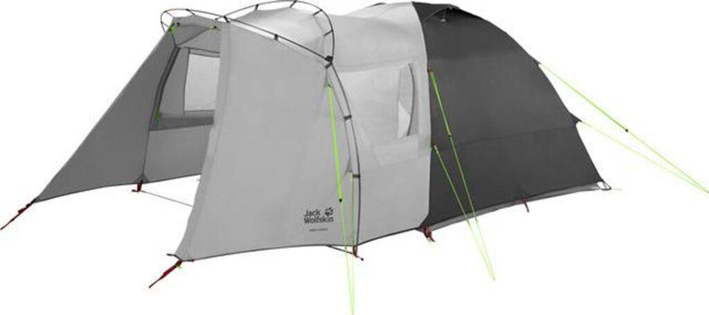 Jackwolfskin neljän hengen teltta